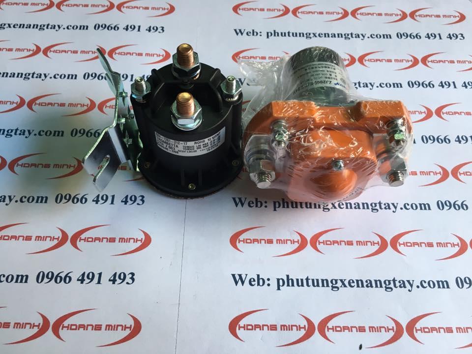 RELAY xe nâng điện 12V, 24V- cóc đề