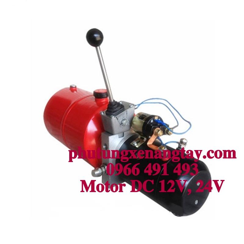 MOTOR  DC12V 1.6KW - Phụ tùng xe nâng điện bán tự động
